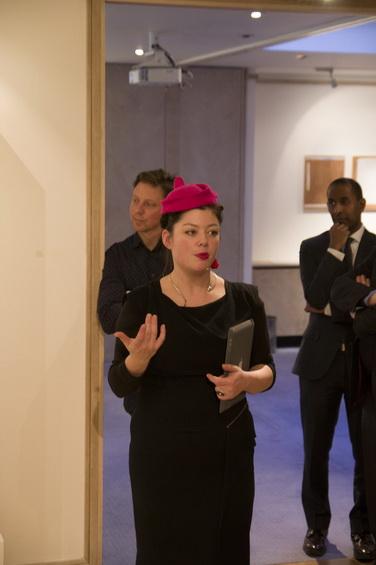 Collyer Bristow Gallery Rosalid Davis curator